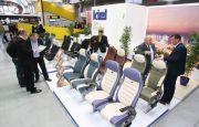 Nowoczesne siedzenie podczas TRANSEXPO