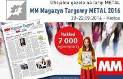 Specjalny MM Magazyn Targowy o targach METAL 2016