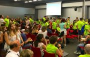 PILGRIMS FROM ITALY HELD A PRAYER MEETING IN TARGI KIELCE