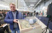 Charytatywna licytacja podczas Okręgowej Wystawy Gołębi Pocztowych w Targach Kielce dla Wojewódzkiego Szpitala Zespolonego