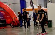 Kosmiczne hulajnogi testowane wTargach Kielce