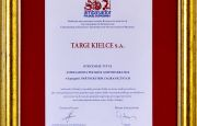 Targi Kielce Ambasadorem Polskiej Gospodarki 2016