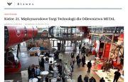"""Targi METAL 2016 w Kielcach na łamach i w obiektywie """"Rzeczpospolitej"""""""