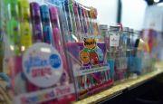 Kredki pachnące owocami na Targach KIDS' TIME