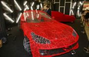 A SEE-THROUGH FERRARI AND A COMPOSITE TABLE - 3D PRINTING DAYS ATTRACTIONS