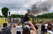 A SPECTACULAR DEMONSTRATION OF ŚWIĘTOKRZYSKIE STATE FIRE SERVICE AT THE IFRE-EXPO