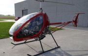 A HELICOPTER FROM BELGIUM AT TARGI KIELCE'S LIGHT AVIATION EXPO