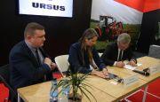 Ursus podpisał umowę z Mesko-Rol podczas targów AGROTECH