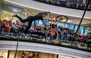 Freestyle na rowerach w Targach Kielce