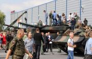 MSPO'S OPEN DAYS WITH THE HISTORY IN THE BACKGROUND