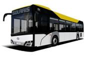THE DEBUT OF SOLARIS URBINO 12 LE LITE HYBRID AND URBINO IN THE NEW DESIGN STAGED AT TRANSEXPO