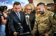 Prezydent Andrzej Duda wizytuje targi MSPO