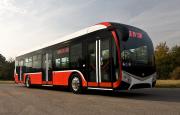 Miejski autobus SOR NS - nowość na TRANSEXPO w Targach Kielce