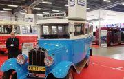 Zabytkowe autobusy w Targach Kielce  - wystawa TRANSEXPO 2018
