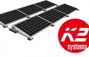 Targi Enex Nowa Energia - konstrukcje fotowoltaiczne od K2 Systems