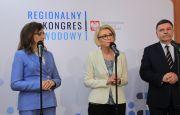 Wizyta Marzeny Machałek Wiceminister Edukacji Narodowej w Targach Kielce