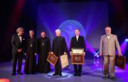 THE MEDALS OF THE PONTIFICAL COUNCIL   FOR CULTURE - PRESENTED FOR THE FIFTEENTH TIME AT TARGI KIELCE'S SACROEXPO