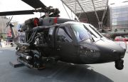 Uzbrojony Black Hawk na MSPO