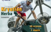 KRYSTIAN HERBA PRESENTS BICYCLE SHOW AT THE TARGI KIELCE
