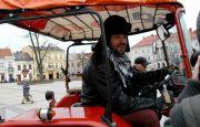 """""""Traktoriada"""" na kieleckim Rynku wdrodze na AGROTECH 2017"""