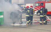 Pożar ugaszony na Targach EKOTECH
