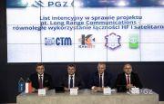 """List intencyjny w sprawie nawiązania współpracy, mającej na celu realizację projektu """"Long Range Communications"""" podpisany podczas MSPO"""