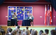 MSPO MAKES IT POSSIBLE FOR YOUNG PEOPLE TO MEET THE FAMOUS ASTRONAUT