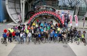 GREAT BICYCLE PARADE AT THE KIELCE BIKE-EXPO