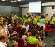 Pielgrzymi z Włoch modlili się w Targach Kielce