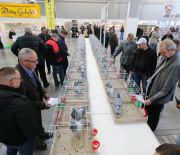 CARRIER AND PEDIGREE PIGEONS AND A HUGE NUMBER OF RABBITS ON DISPLAY AT TARGI KIELCE