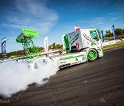 Driftująca ciężarówka na  DUB IT Inter Cars Tuning Festiwal!
