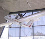 Orzeł z muzeum podczas Targów Lotnictwa Lekkiego
