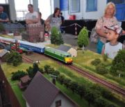 A GIGANTIC RAILWAY SYSTEM MOCK-UP ON SHOW AT THE MODEL EXHIBITION KIT EXPO - THIS IS A MUST-SEE EXHIBIT!