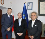 A MEETING WITH THE GERMANY'S CONSUL- GENERAL