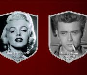 HOW TO LOOK LIKE MARILYN MONROE AND JAMES DEAN - MODERN FUNERAL PLAQUES DISCUSSED IN A LECTIRE