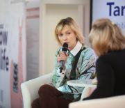 O muzyce, ekologii i zdrowiu- Mela Koteluk w Targach Kielce