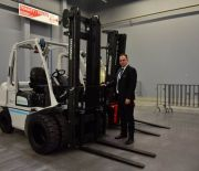 THE FORK-LIFTS ZONE IS NOW OPEN