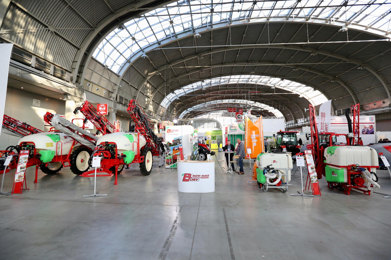 Firma Bury Maszyny Rolnicze podczas targów HORTI-TECH w Kielcach