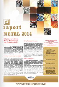 METAL 2014 - raprot