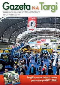 Gazeta na targi AGROTECH, LAS-EXPO 2016