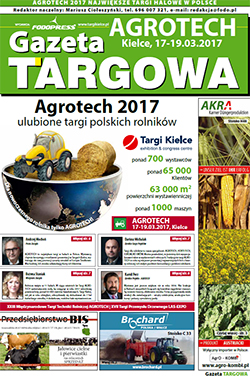 Agrotech 2017 - gazeta targowa