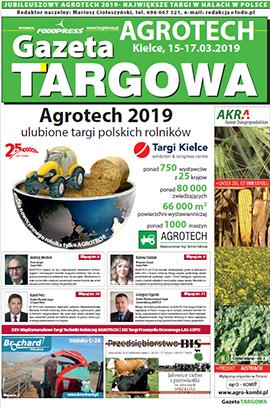 agrotech 2018 - gazeta targowa