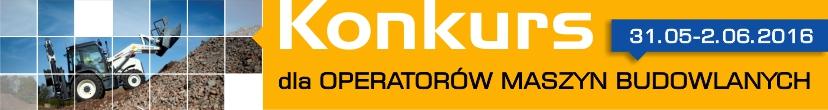 konkurs dla operatorów maszyn budowlanych 2016