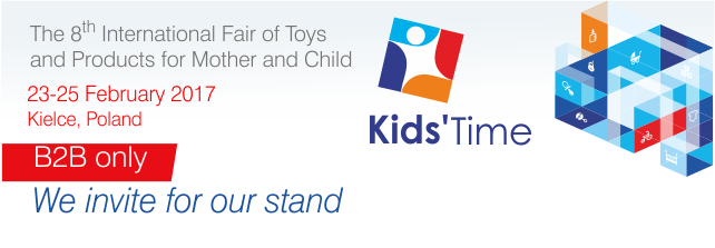Kids Time 2017 - we invite you to our stand