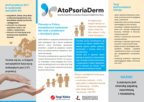 AtoPsoriaDerm 2017 - ulotka