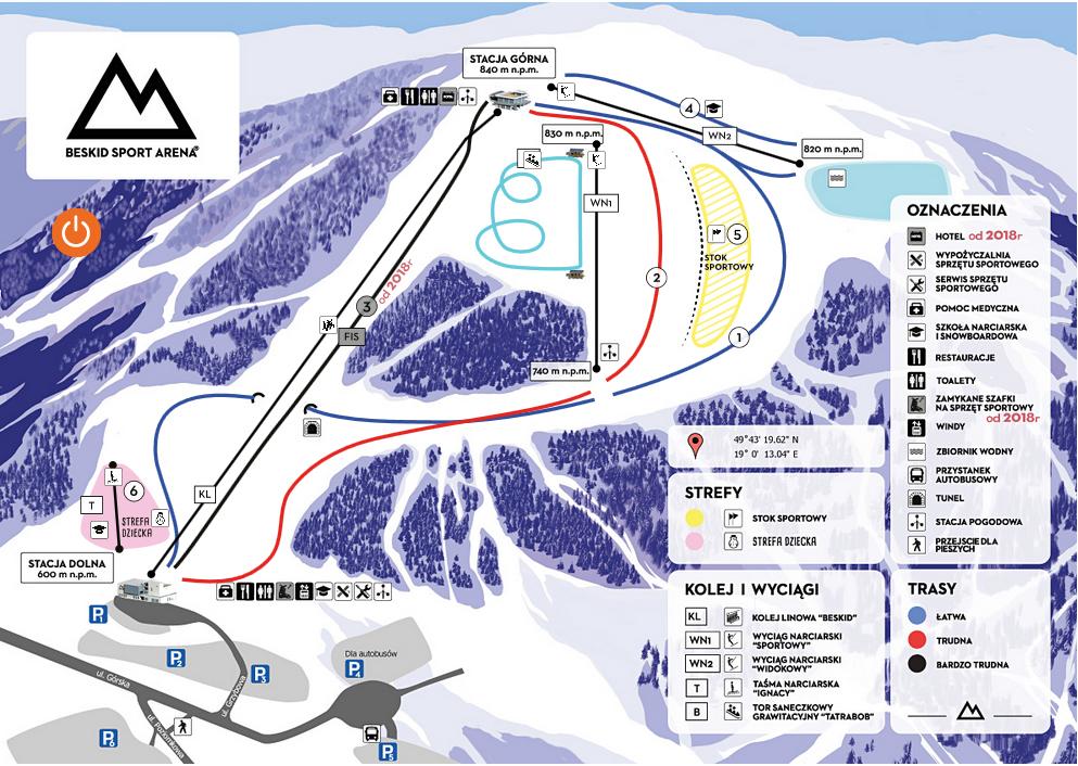 beskid_sport_arena-stok-mapa