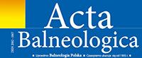 acta balneologica