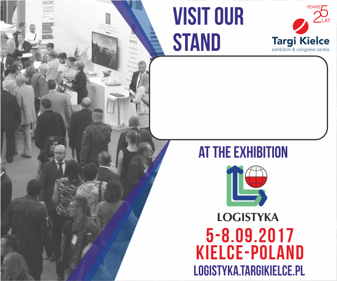 visit our stand at LOGISTYKA 2017