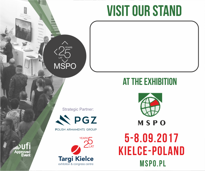 visit our stand at MSPO 2017