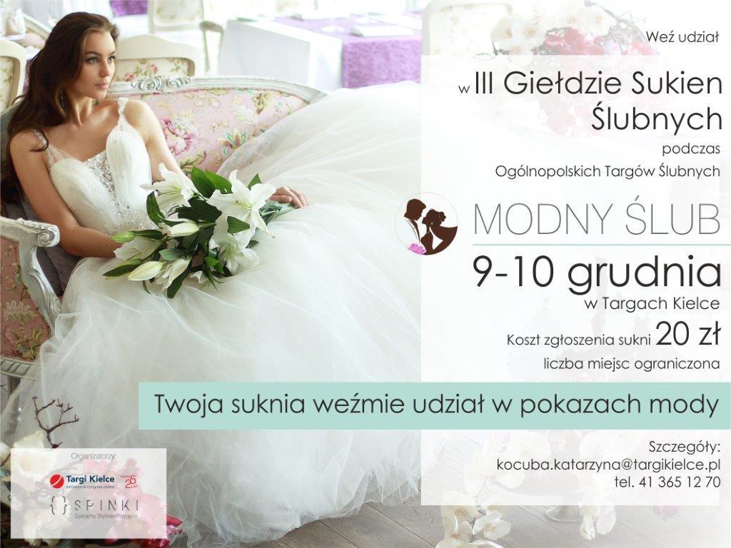 modny ślub - giełda sukien ślubnych